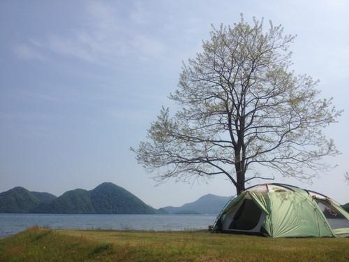 洞爺湖 キャンプ キャンプ場 曙公園