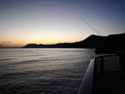 豊浦フィッシャリーナでアキアジ釣り(鮭釣り)デビュー