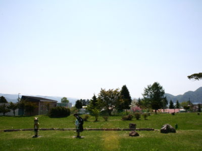 北海道・洞爺湖 チャシバクINN近隣のおすすめスポット【うましか公園】